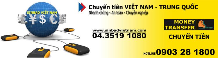 Dịch vụ chuyển tiền sang Trung Quốc uy tín số 1 Việt Nam